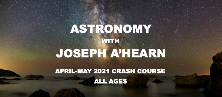 April-May Crash Course in Astronomy Is Open